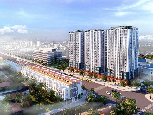 Dự án: Khu Chung cư – Trung tâm thương mại quận Gò Vấp