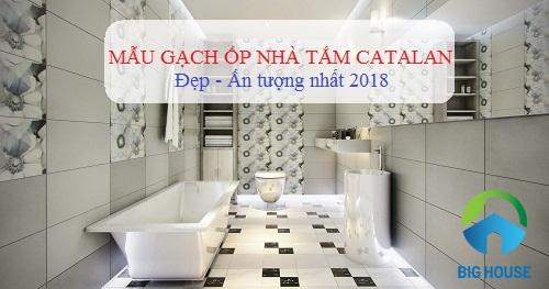gạch ốp nhà tắm catalan