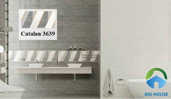 Thu hút mọi ánh nhìn cho không gian phòng tắm với gạch Catalan 3639