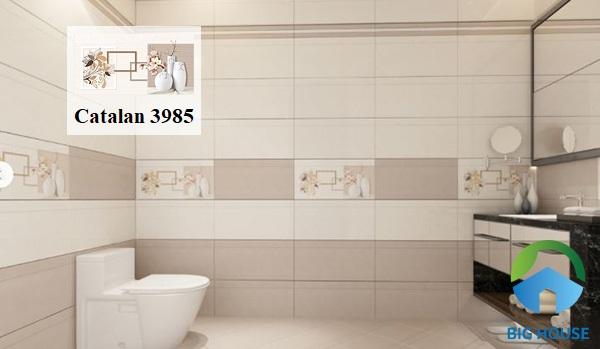 Gạch trang trí Catalan 3985 mang lại hiệu quả thẩm mỹ cao cho không gian sử dụng