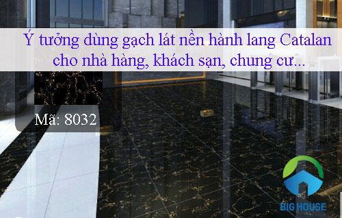 Chọn mẫu gạch lát nền hành lang đẹp cho nhà hàng, chung cư,…