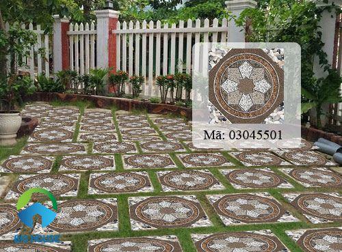 gạch sân vườn Catalan
