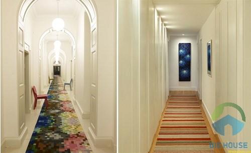thiết kế hành lang đẹp