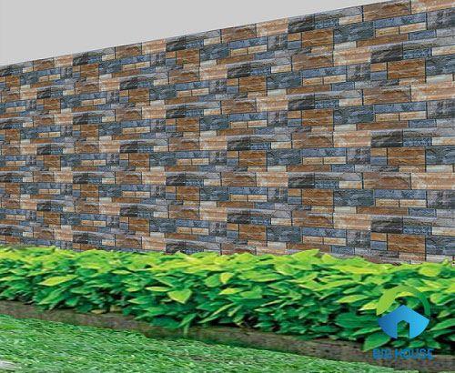 gạch ốp tường rào