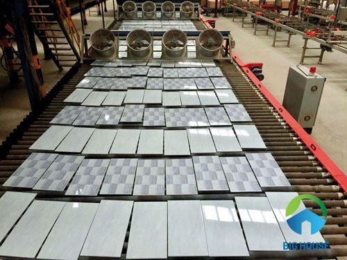 Quy trình sản xuất gạch ốp lát ceramic