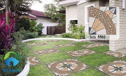 cách chọn gạch lát nền cho sân vườn