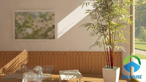 gạch ốp tường giả gỗ 40x90 2