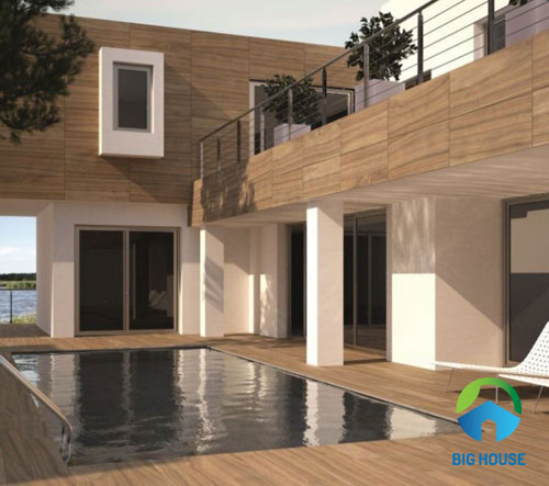 Bạn đã từng nghĩ đến việc sử dụng gạch ốp ngoài trời giả gỗ chưa?