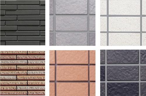 Chọn màu sắc gạch ốp tường bên ngoài tùy thuộc vào khu vực sử dụng