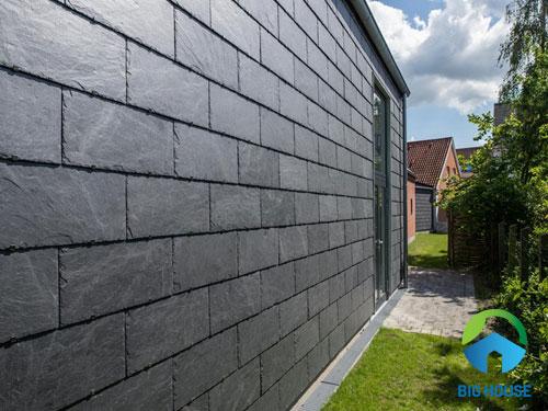 mẫu gạch ốp tường sân vườn