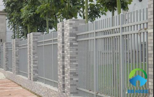 gạch thẻ ốp tường sân vườn