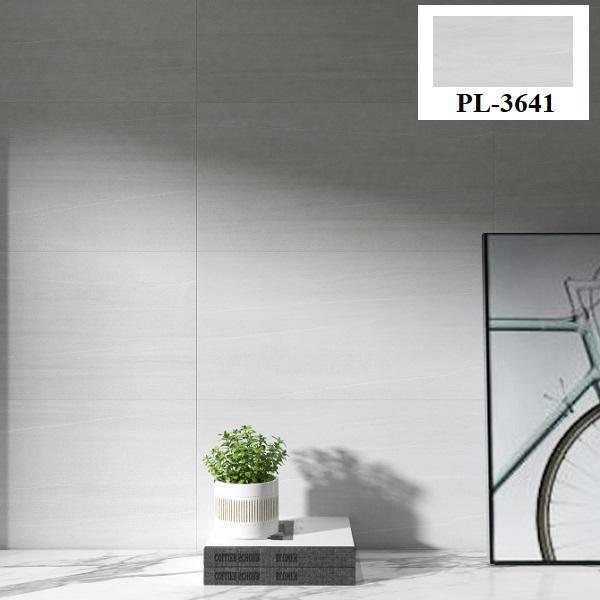 Ấn tượng với mẫu gạch ốp tường màu xám trắng Platinum PL-3641 đến từ thương hiệu Viglacera