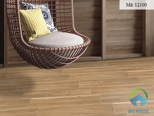 gạch giả gỗ chống trơn 6