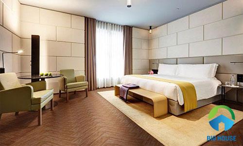 gạch lát nền giả gỗ phòng ngủ