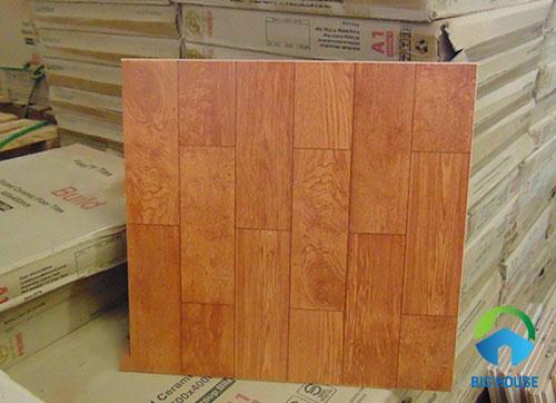 chọn gạch lát nền giả gỗ phòng ngủ