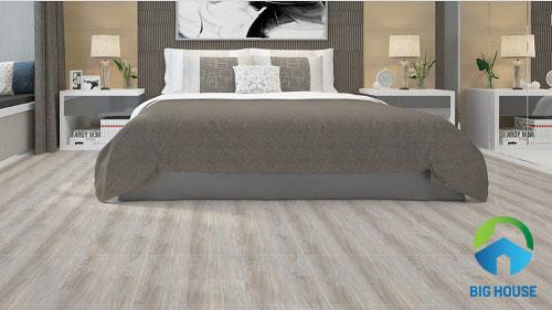 gạch lát nền giả gỗ xám nhạt