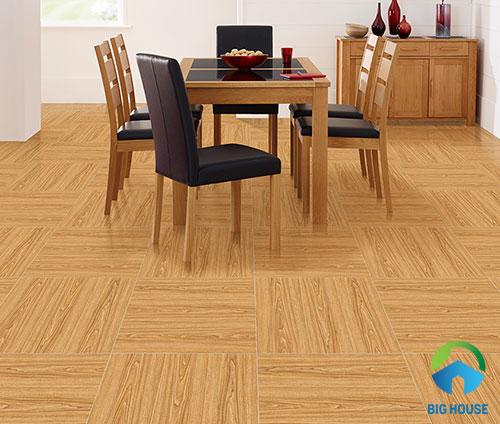 cách lát sàn gạch vân gỗ