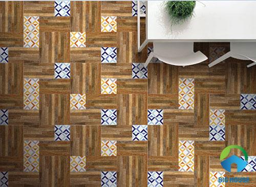 cách lát sàn gạch giả gỗ