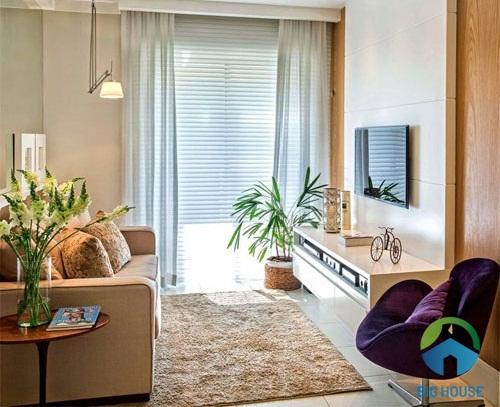 thiết kế phòng khách đơn giản 3