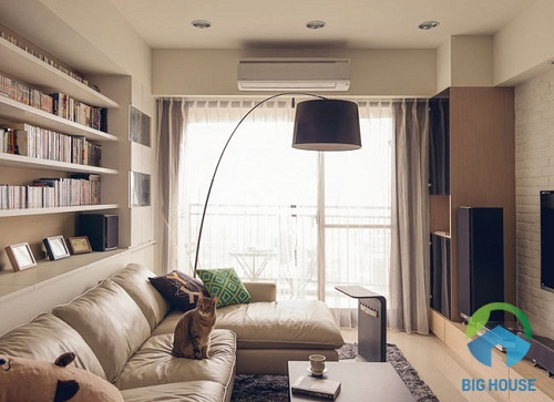 thiết kế phòng khách đẹp rẻ 1