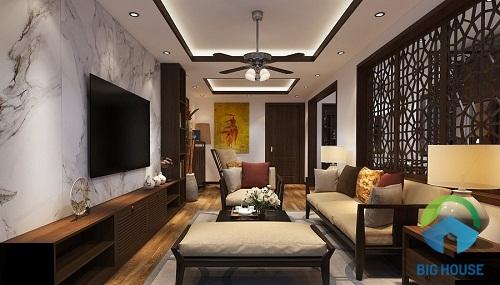 thiết kế phòng khách đẹp rẻ