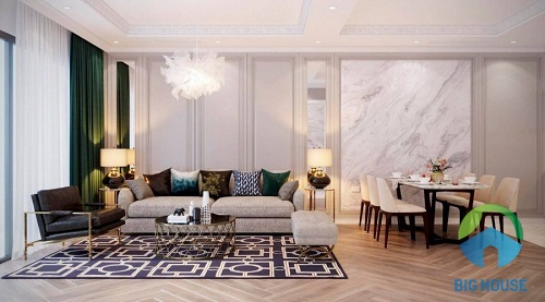 phòng khách đẹp đơn giản 1