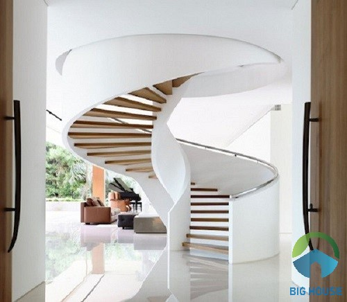 chiều cao bậc cầu thang tiêu chuẩn