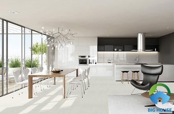 Gạch bóng kiếng mang phong cách sang trọng cho không gian sống của bạn