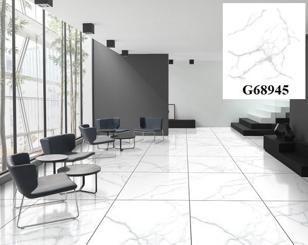 Mẫu gạch vân đá marble Taicera G68945 dành cho những gia chủ có bản mệnh Thủy