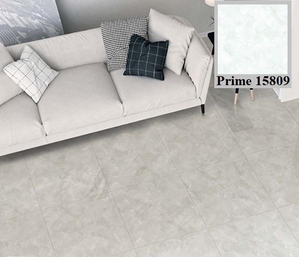 Gam màu xanh nhẹ nhàng, hiện đại của mẫu gạch Prime 15809 cũng là gợi ý hay cho người mệnh Thủy
