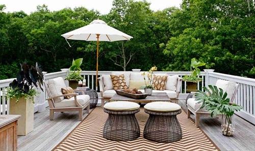 Tư vấn chọn gạch lát sân thượng chống nóng và chống thấm hiệu quả