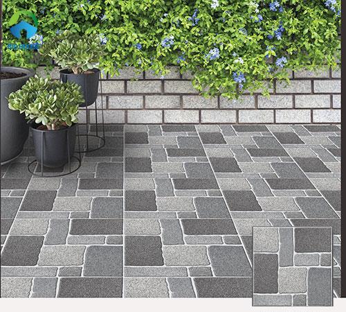 Gạch lát sân bề mặt định hình