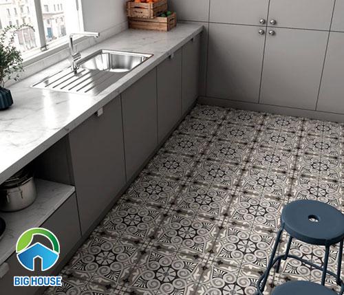 gạch bông lát bếp 24