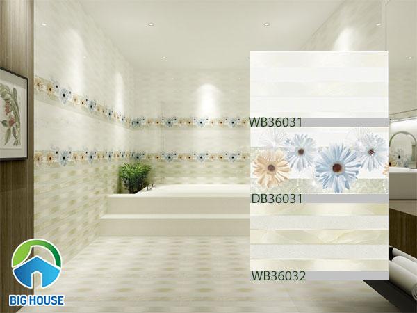Bộ gạch ốp tường nhà tắm