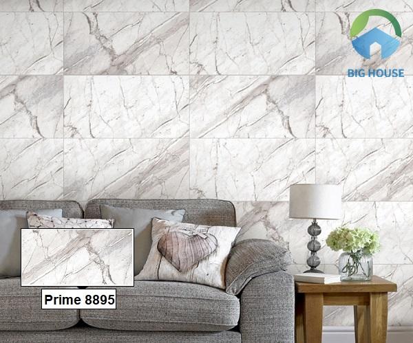 Tham khảo mẫu gạch giả đá Prime 8895 với những đường vân xám toát lên vẻ đẹp thanh lịch, sang trọng