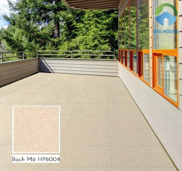 Với gam màu kem nhẹ nhàng, gạch Bạch Mã HP6004 có thể ứng dụng trong mọi không gian