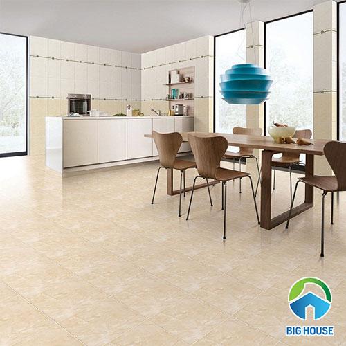 Gạch lát nền nhà bếp: Top mẫu, Cách chọn, Phong thủy, Báo giá chi tiết