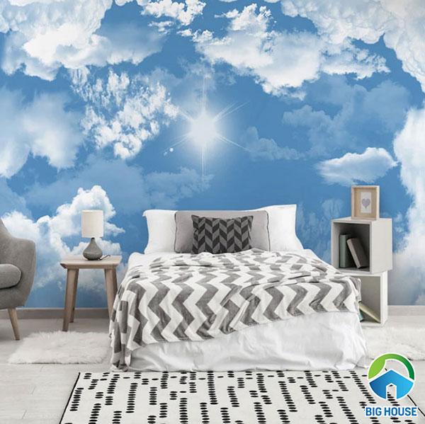 gạch ốp tường phòng ngủ 3d 9