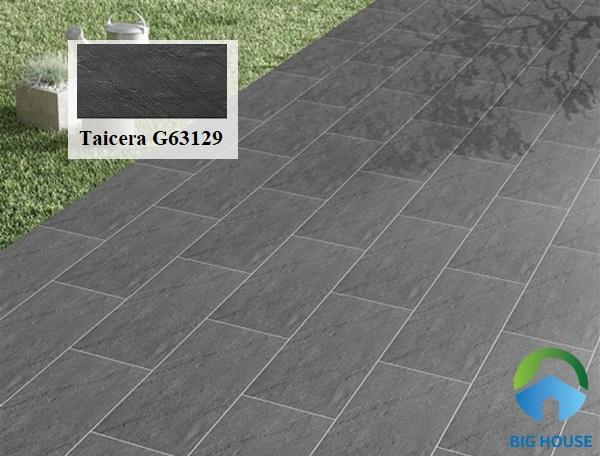 Mẫu gạch lát sân Taicera-G63129 với chất liệu granite có độ cứng, độ bền cao. Khả năng chống ẩm, tính chịu lực rất tốt