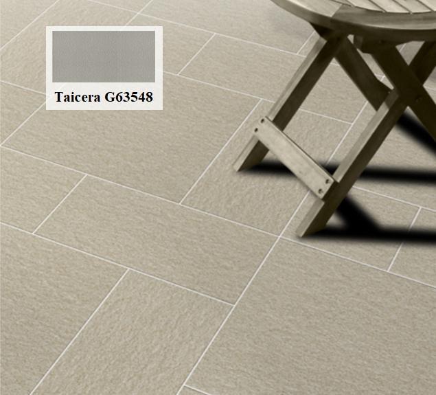 Cũng có thể lựa chọn gạch Taicera G63548 với gam màu xám nhạt hơn. Đây cũng là một gợi ý tuyệt vời cho sân phơi nhà bạn
