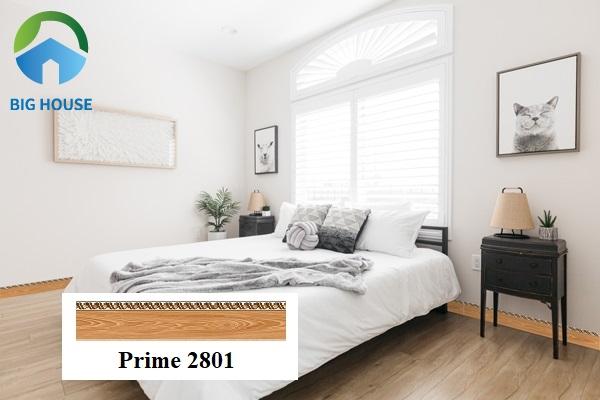 Gạch Prime 2801 kích thước 12x60 có bề mặt nhẵn bóng