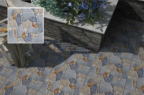 Gạch Prime 18101 giả sỏi đá lát sân mang đến nét đẹp độc đáo và tạo sự khác biệt